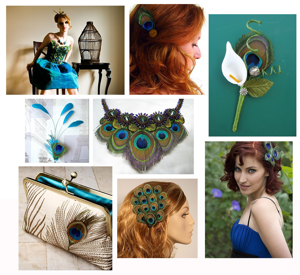 Peacock Inspiration And Feather Canvas Art