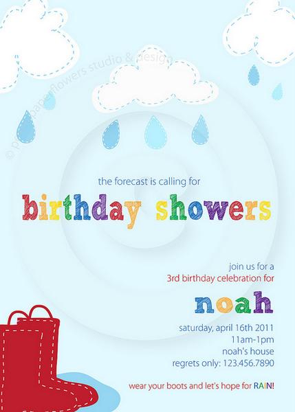 april showers party