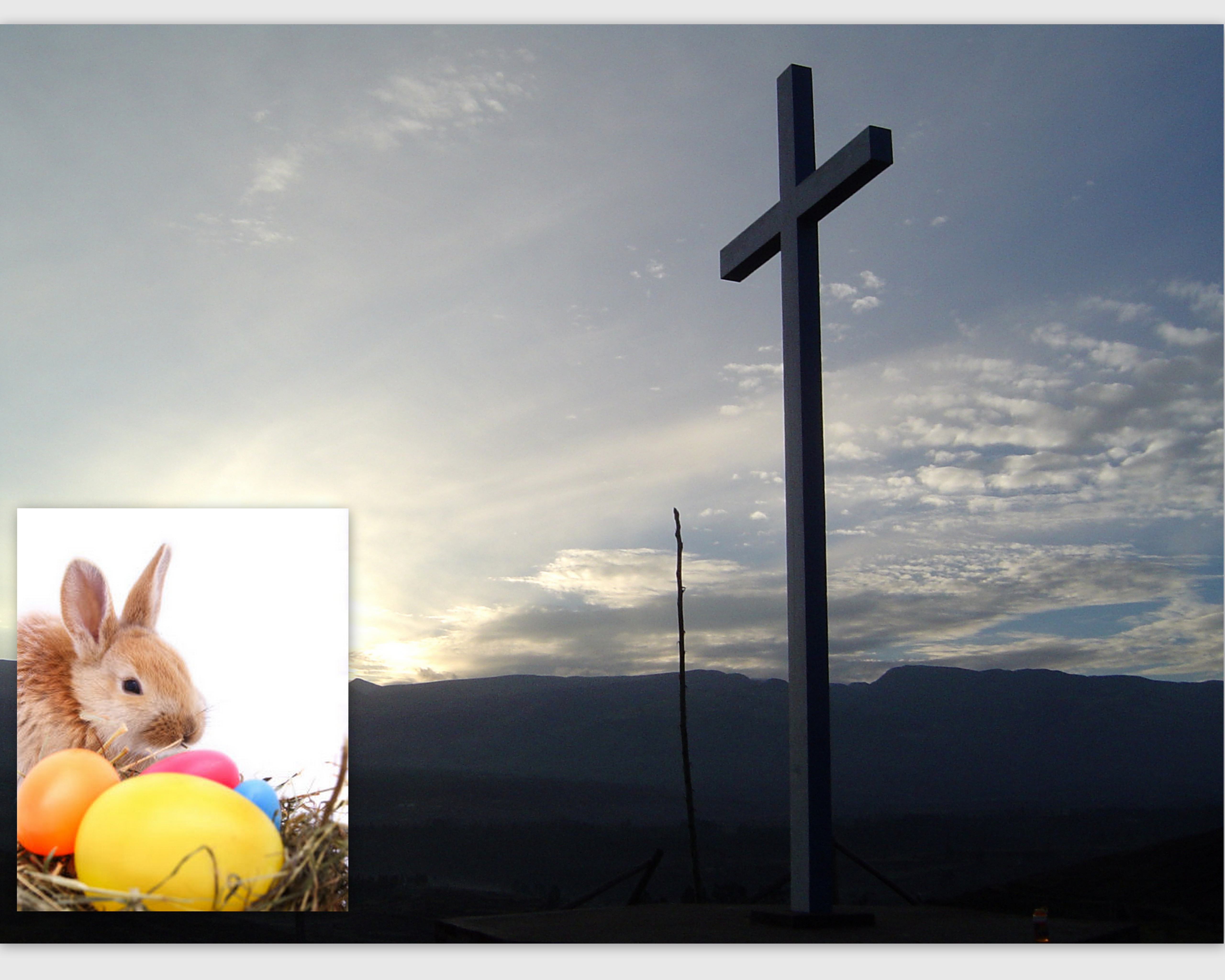 Caught In Between The Easter Bunny The Cross Advent Ideas For