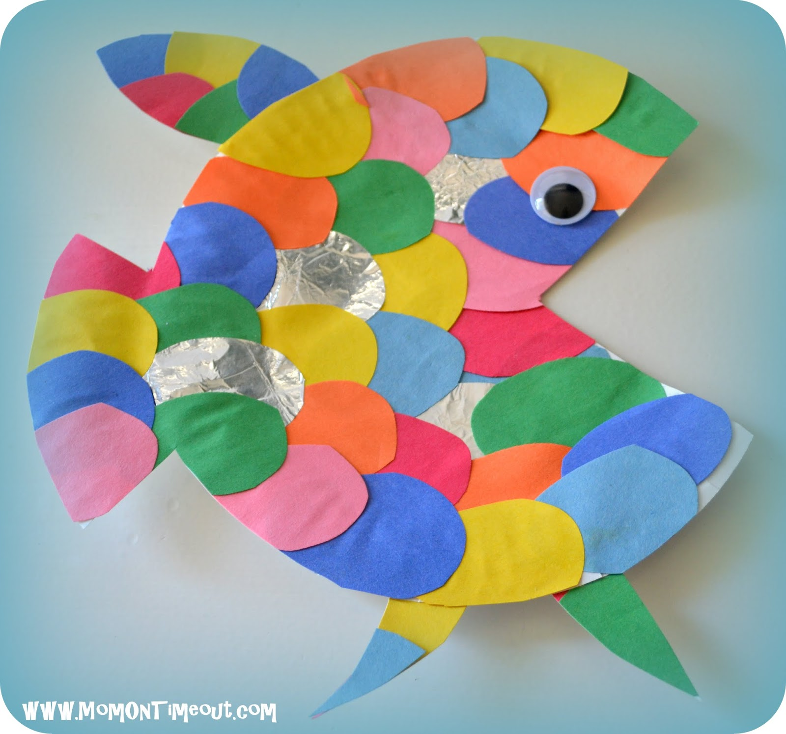 Fish Craft Ideas For Kids Part - 15: Summer Reading Adventure- Week 2- The Rainbow Fish