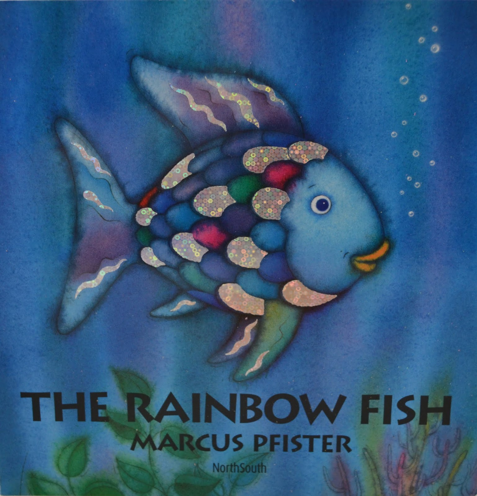 Summer reading adventure week 2 the rainbow fish for Rainbow fish pictures
