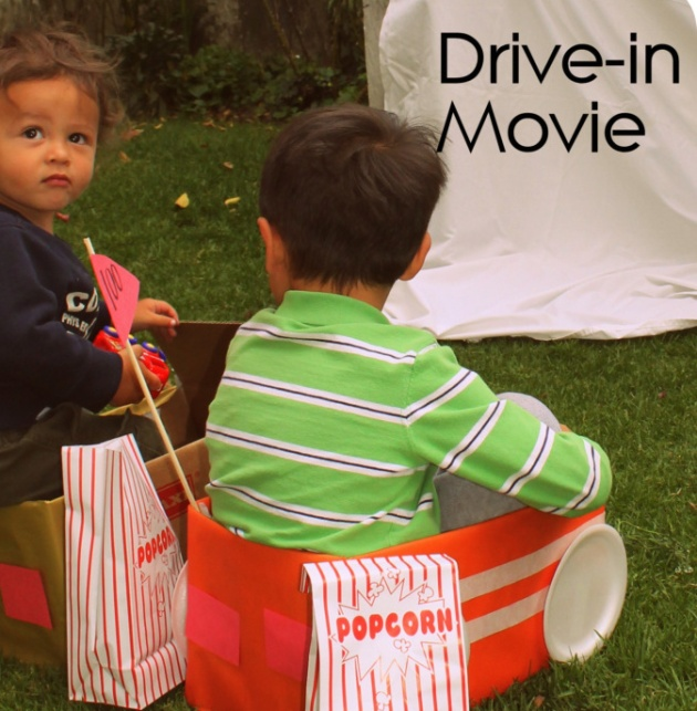 box cars for outdoor movie