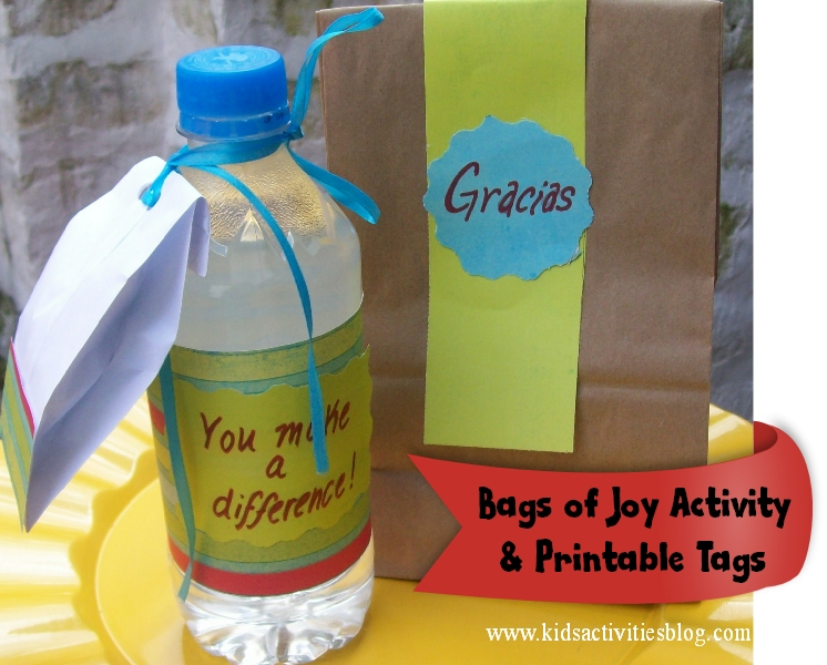 activities that teach values: joy