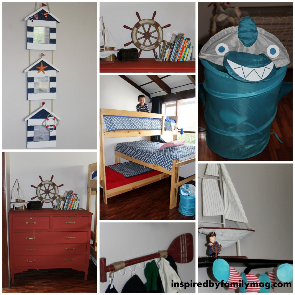This Nautical Pirate Room Was Made With Love And On A Budget My Husband The Kids Myself And My Mother In Law All Worked Hard To Make This Room Ahoy