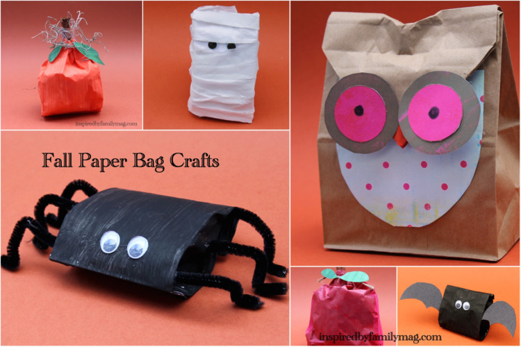 make it look cute Here are some fun ideas for Fall paper bag crafts E3KueHBu