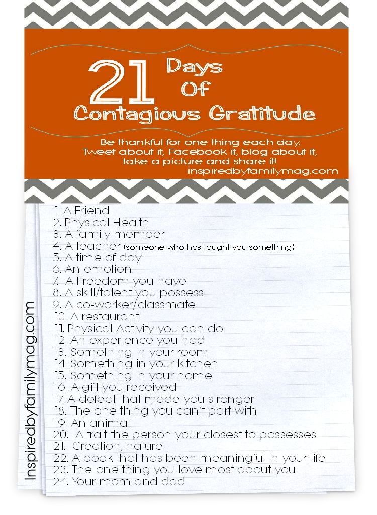 gratitude writing prompts