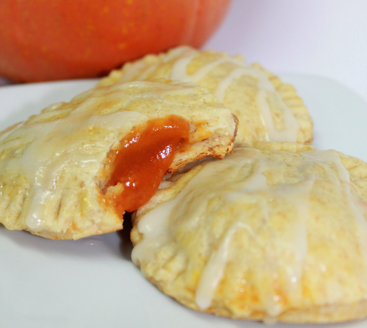 Pumpkin Pie Pop Tarts with Caramel Glaze | Inspired by FamiliaInspired ...