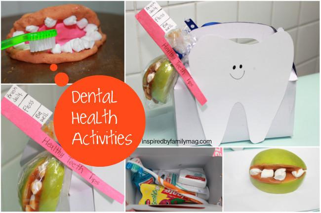 Dental Health Activities For Kids When