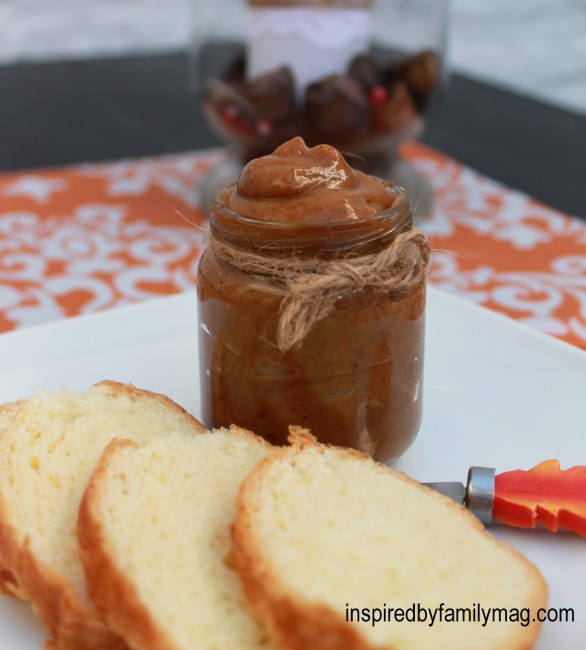 Caramel Pumpkin Butter {crock pot} - Inspired by Familia