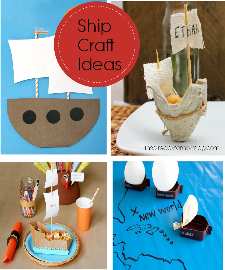 Thanksgiving ship craft ideas mommy blogs justmommies for Thanksgiving day craft ideas