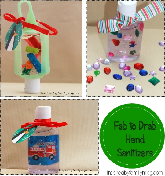 diy hand sanitizer gifts