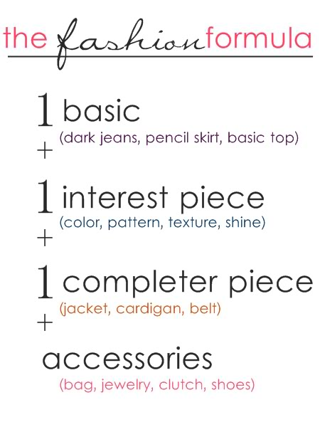 fashion formula