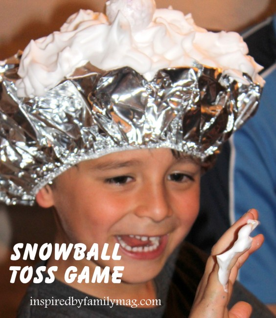 Snowball Toss Game Christmas Party