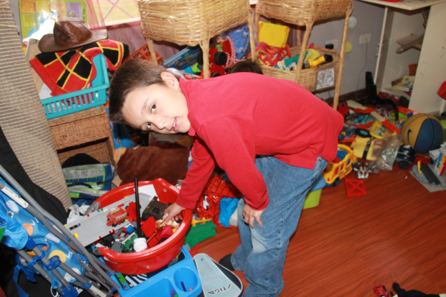 toy decluttering
