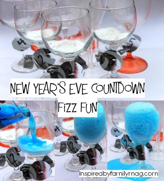 New Years eve Kid activities