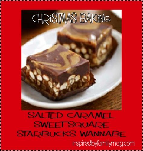 starbucks christmas baking