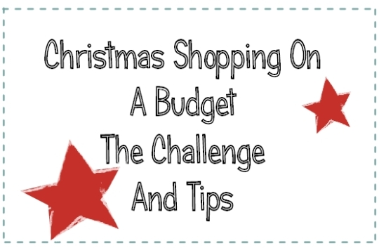 shopping on a budget