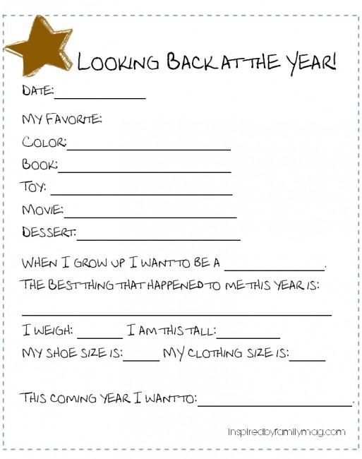 New Years Kid Activities