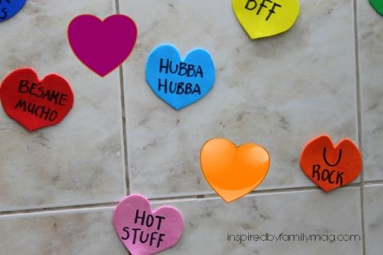 conversation hearts idea