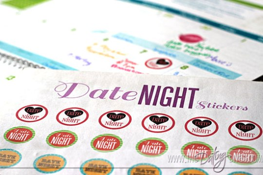 date night stickers