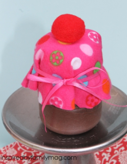 cupcake in a jar craft