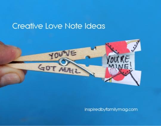 Creative Love Note Ideas