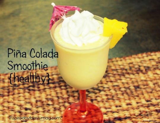 pina colada smoothie healthy