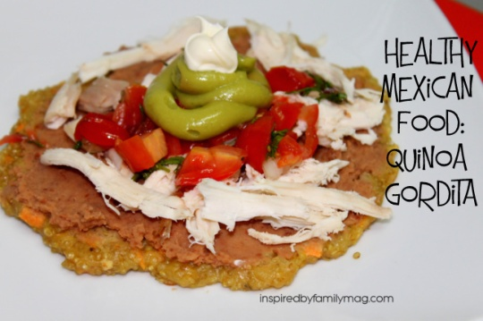 quinoa gorditas mexican food