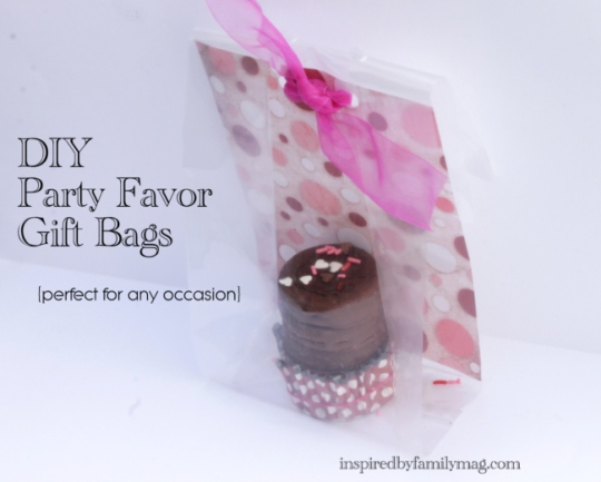 DIY Gift bags