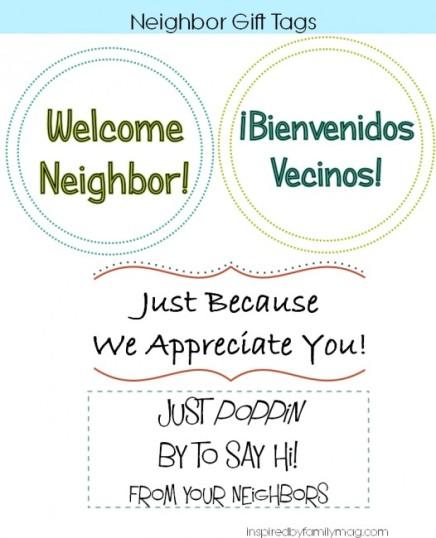 neighbor gift tags