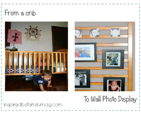 repurposed crib project