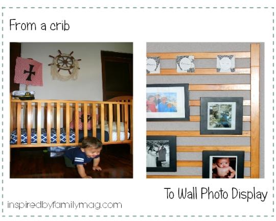 repurposed crib project