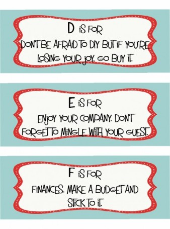 tips for holiday parties