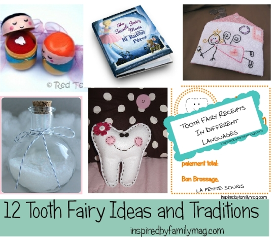 tooth fairy ideas and traditions