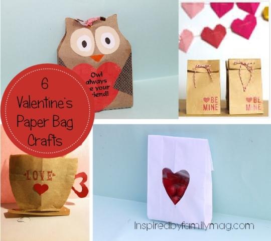 valentines paper bag crafts