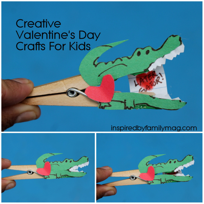 easy valentines day card for kids - Diy Childrens Valentines Day Cards