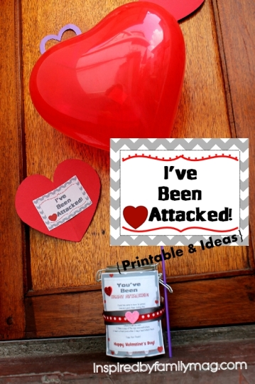 heart attacked printable