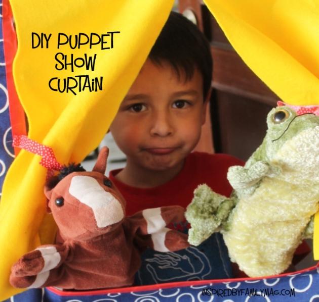 DIY Puppet show theatre