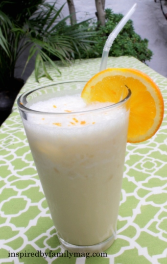 healthy smoothie orange julius