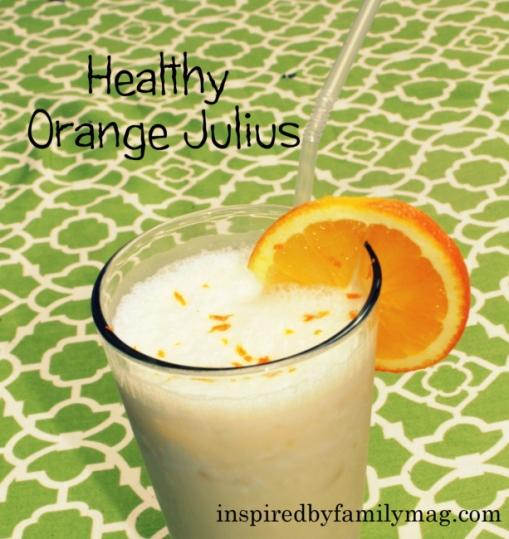 healthy orange julius smoothie