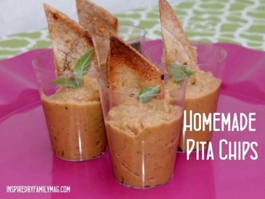 Pita chips recipe