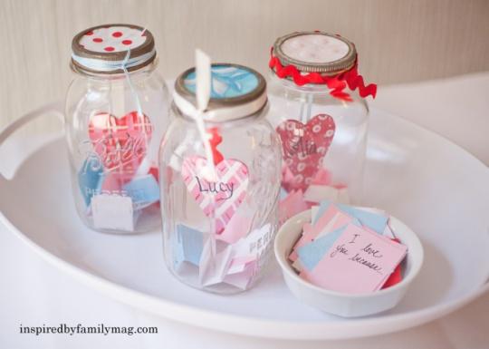 valentines craft love notes