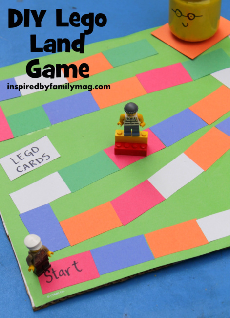 Diy Lego Game Inspired By Family