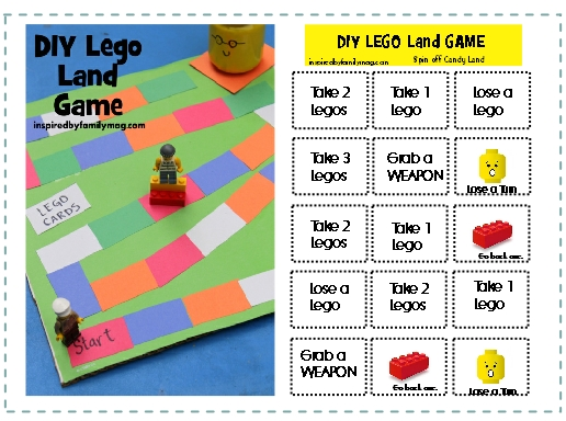diy lego land game