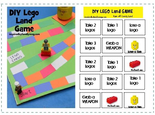 diy lego land game