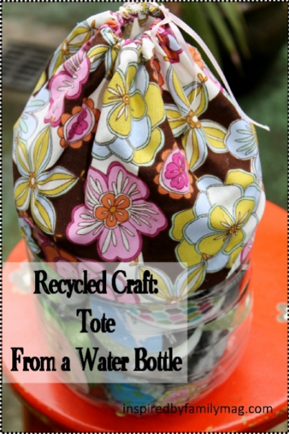 recycled craft tote