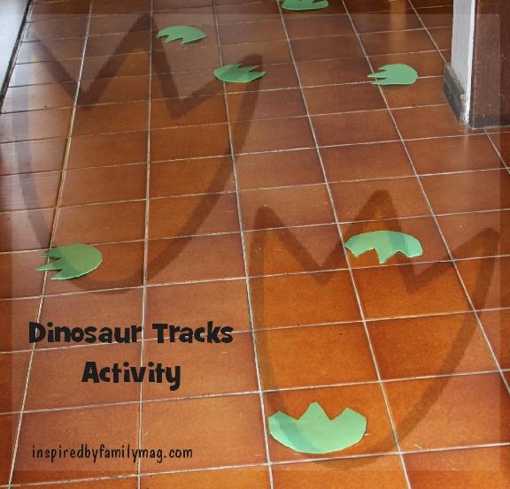 dinosaur tracks activity