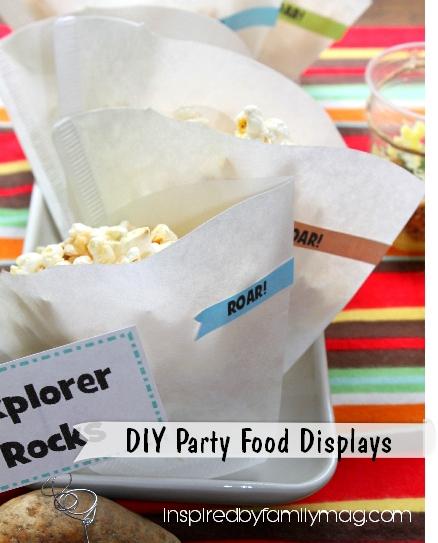 diy party food displays