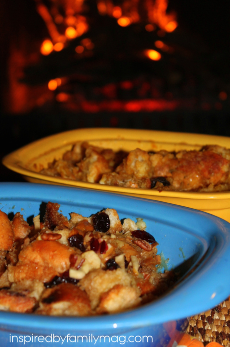 capirotada mexican bread pudding