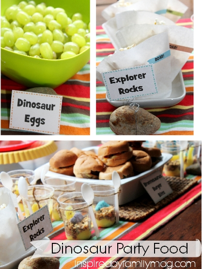 Kids Party Idea: Dinosaur Party - Inspired by Family